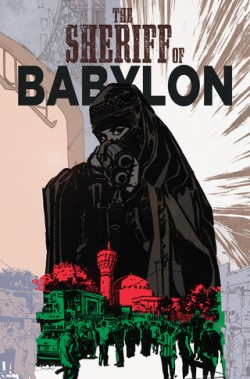 The Sheriff of Babylon #4 cover
