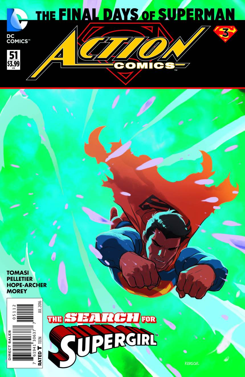 Action Comics 51 Final Days of Superman by Karl Kerschl