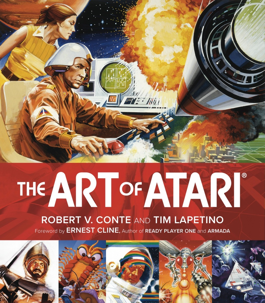 Art of Atari Cover-solicit front cover