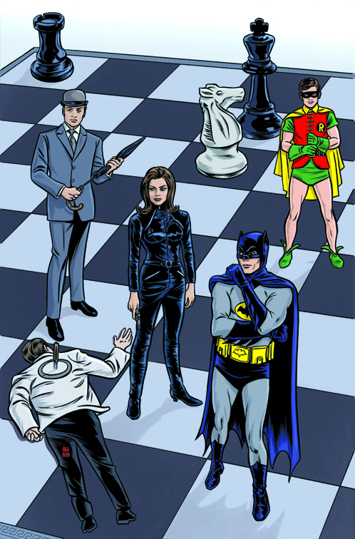 Batman66_SteedPeel #1_Cover