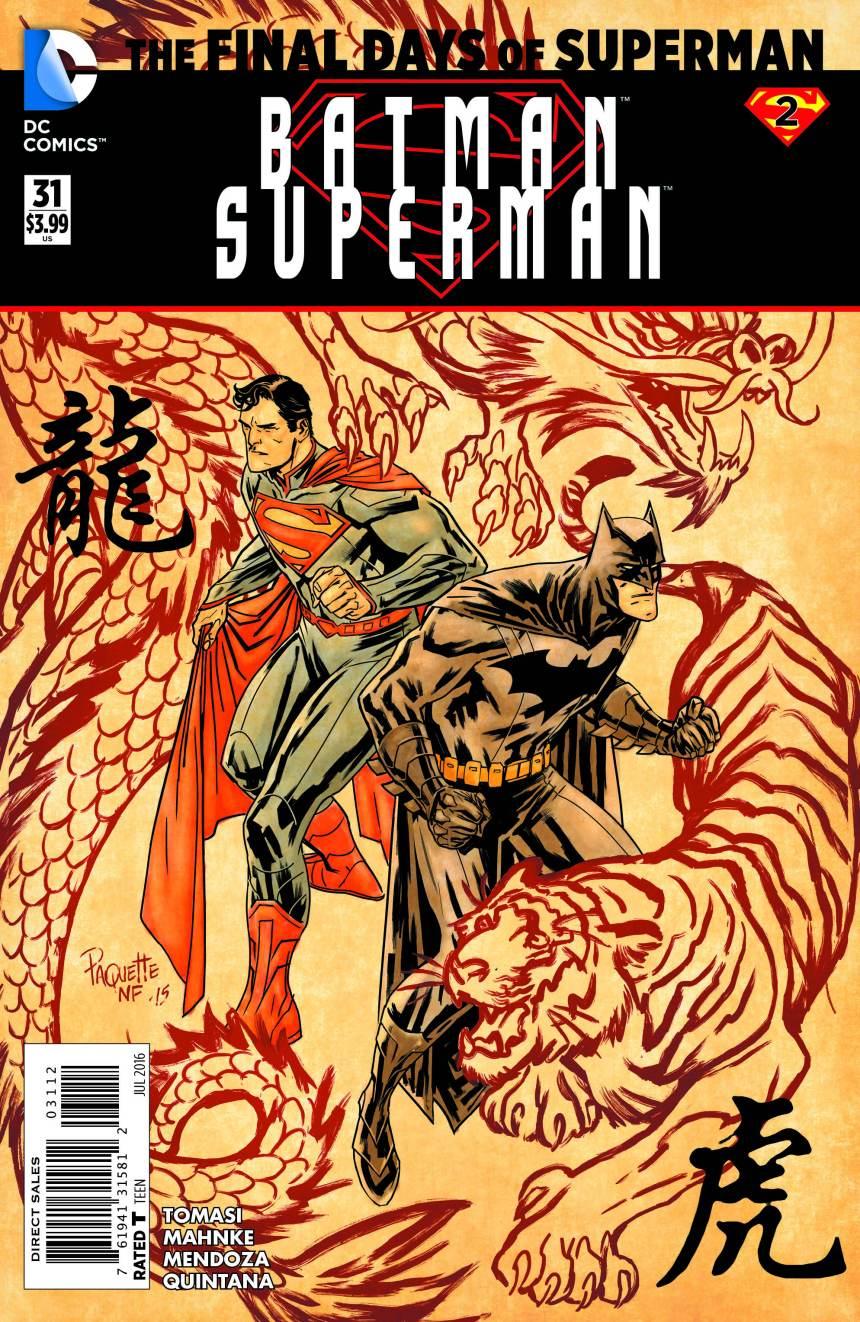 Batman_Superman 31 Final Days of Superman by Yanick Paquette