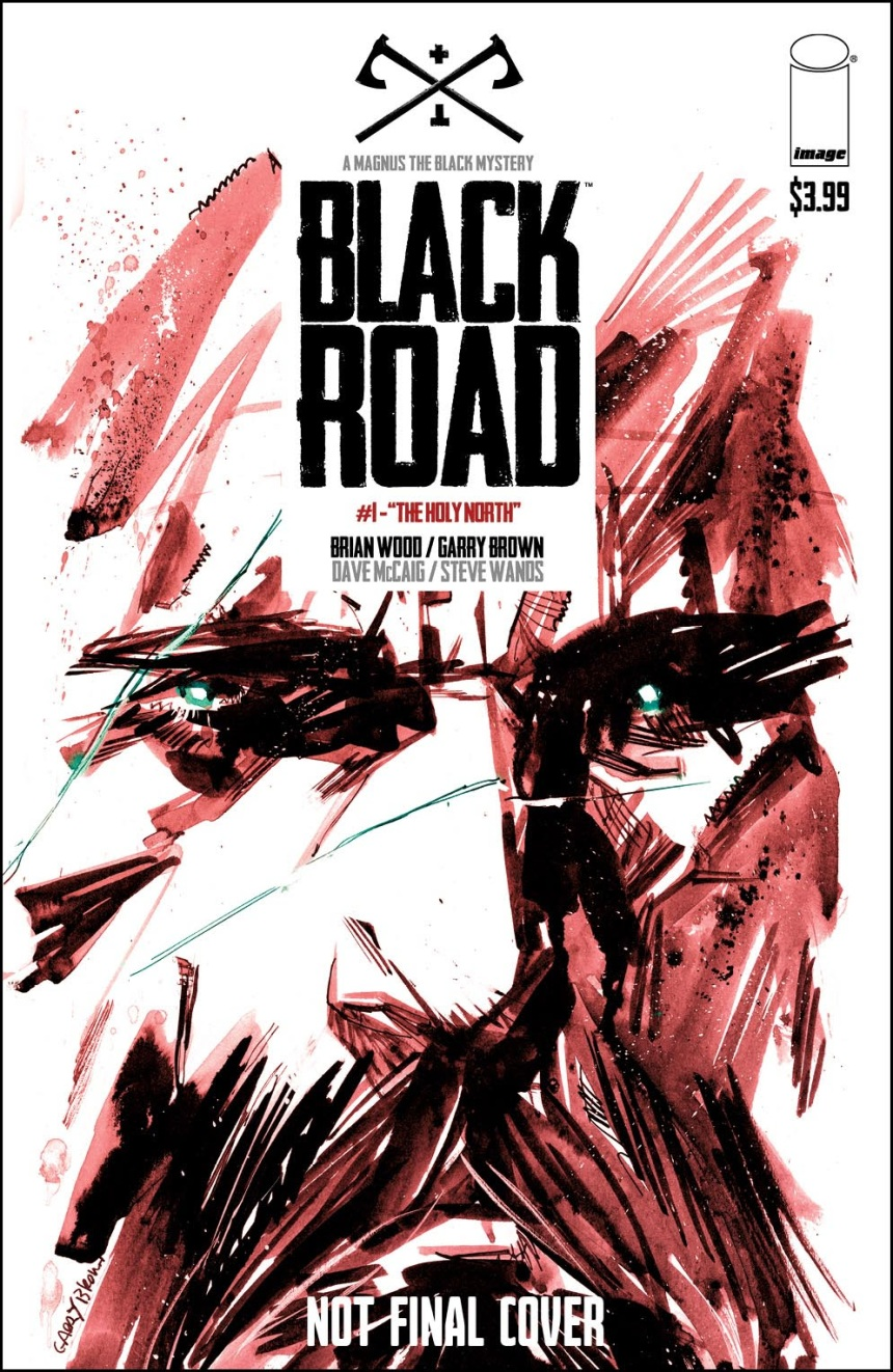 Black Road #1 Second Printing