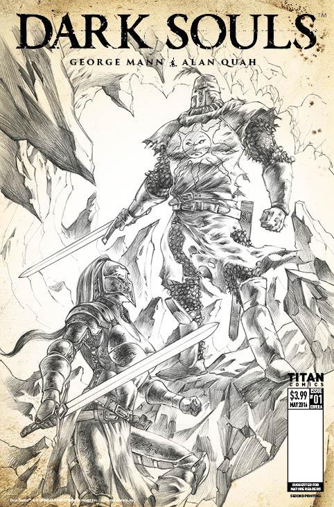 DarkSouls 2nd reprint cover