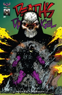 Death's Dark Angel #1 Main Cover