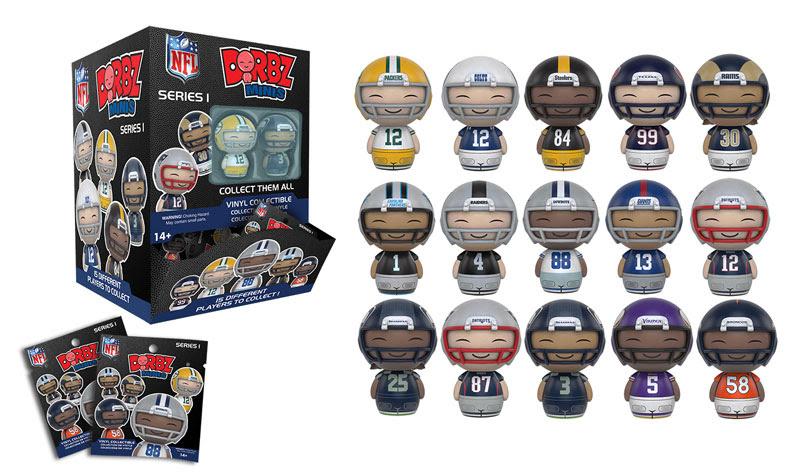 Dorbz Minis NFL