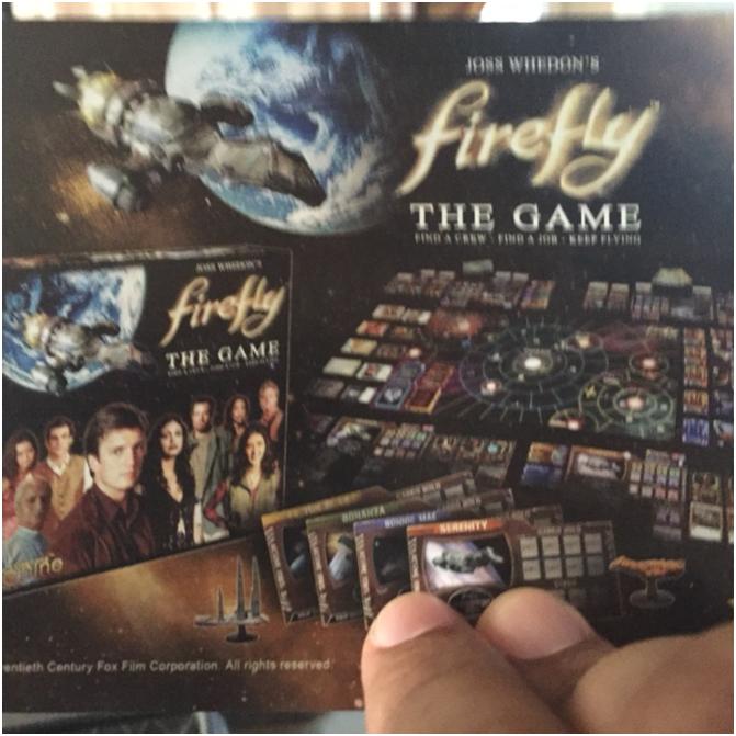 firefly boardgame promo