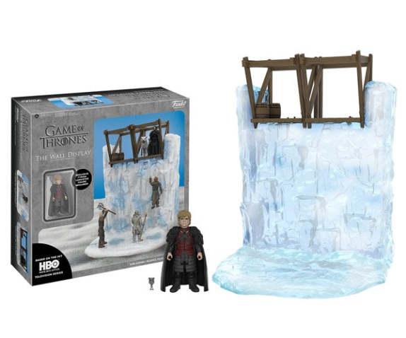 Game of Thrones – Funko Action Figures & The Wall Display Set 1