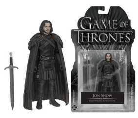 Game of Thrones – Funko Action Figures & The Wall Display Set 4