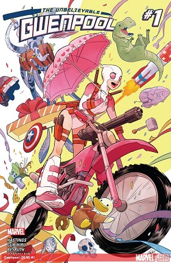 gwenpool 2016 cover
