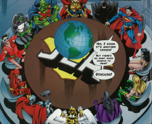 JLA Roundtable comics to read
