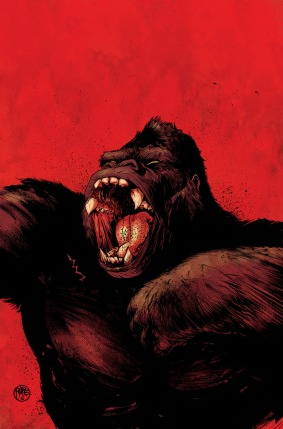Kong of Skull Island #1 Auction Cover 2 by Paul Pope