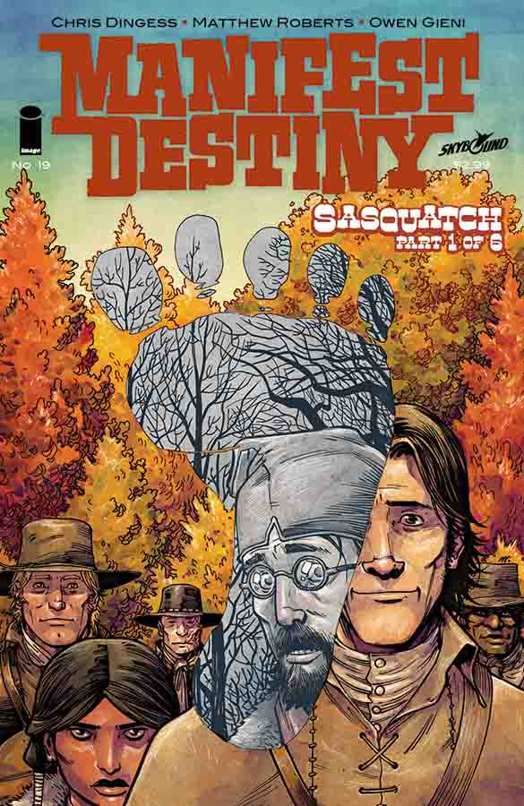 MANIFEST DESTINY #19 Cover A