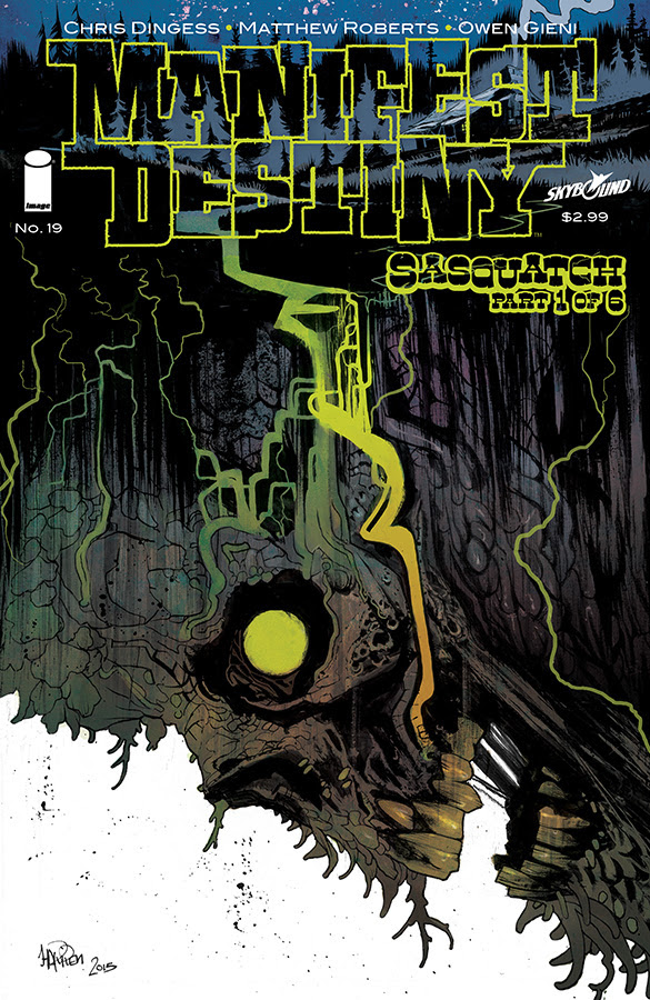 MANIFEST DESTINY #19 Cover B