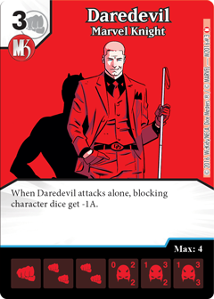 Marvel Dice Masters Marvel Knights OP Daredevil