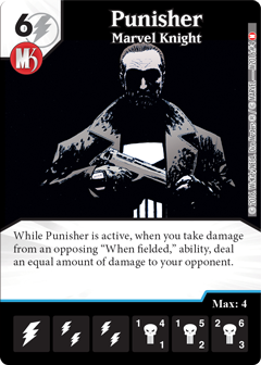 Marvel Dice Masters Marvel Knights OP The Punisher