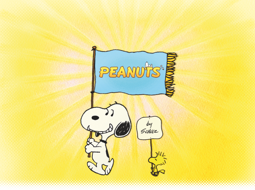 Peanuts key art