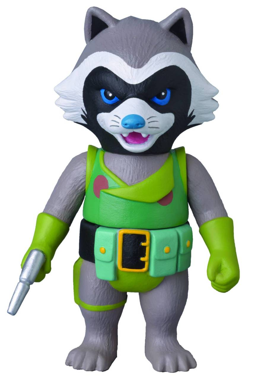 Rocket Raccoon Sofubi