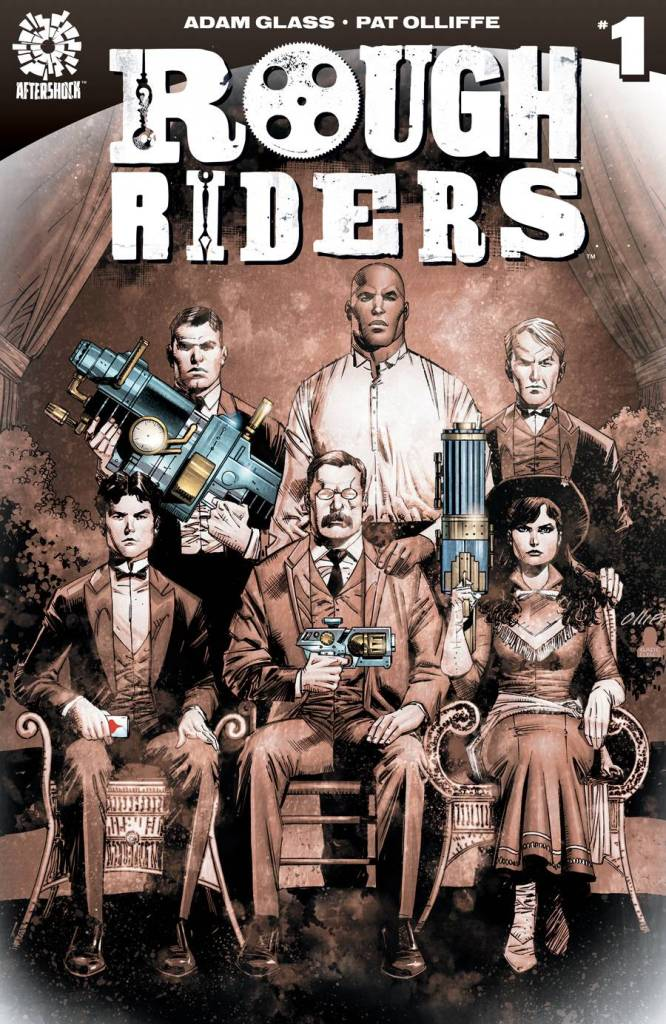 Rough Riders #1 Cover
