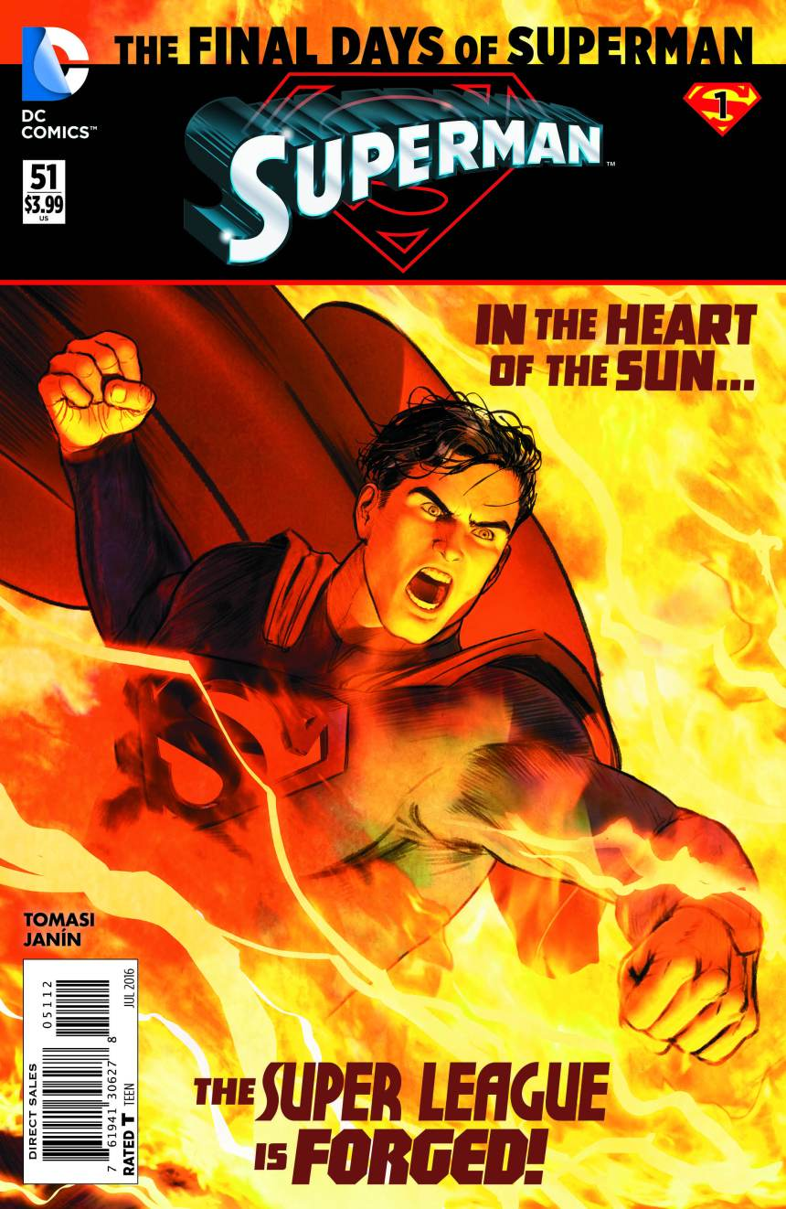 Superman 51 Final Days of Superman Mikel Janin