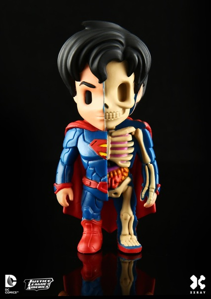XXRay DC Comics Figures by Mighty Jaxx Superman 1