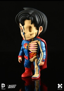 XXRay DC Comics Figures by Mighty Jaxx Superman 2