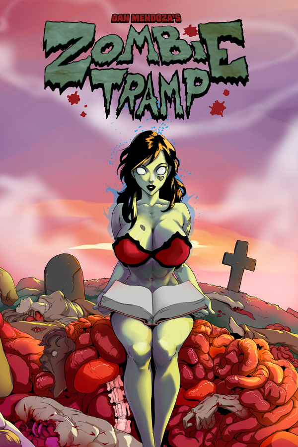 ZombieTramp_Hardcover_Year1_coverA_solicit