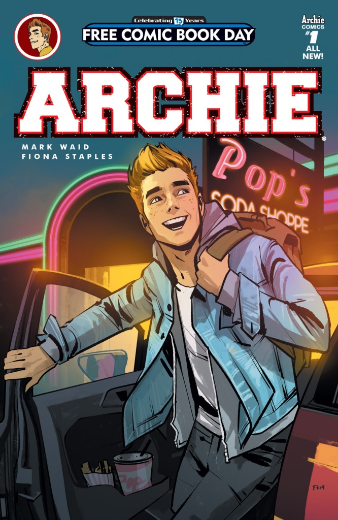 ARCHIE #1 FCBD EDITION cover by Fiona Staples