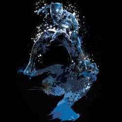 Black Panther Splatter