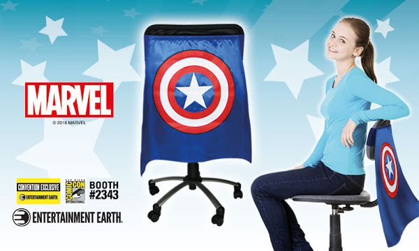Captain America Chair Cape - Convention Exclusive 1