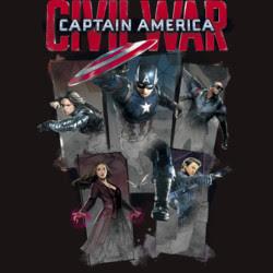 Captain America Civil War Heroes