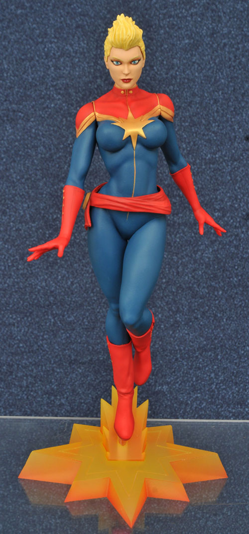 FEB168427 STL009974 MARVEL GALLERY CAPT MARVEL MOHAWK FIG