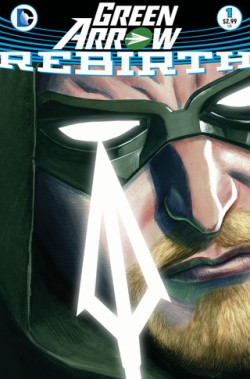 Green Arrow Rebirth #1 Cover