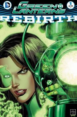 Green Lanterns Rebirth #1 cover