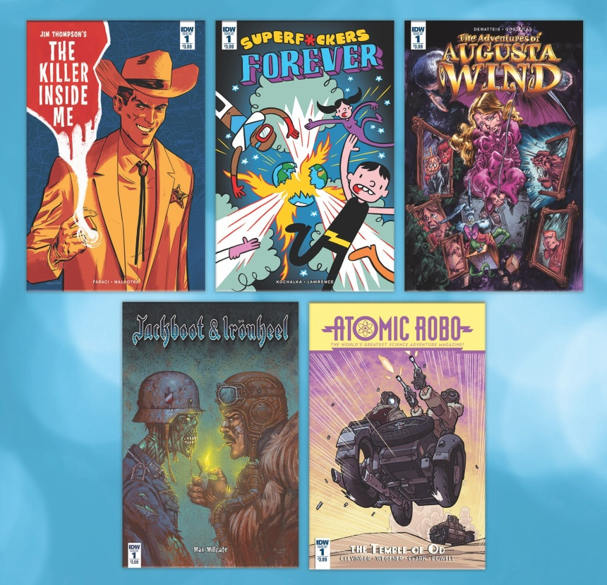 IDW August series