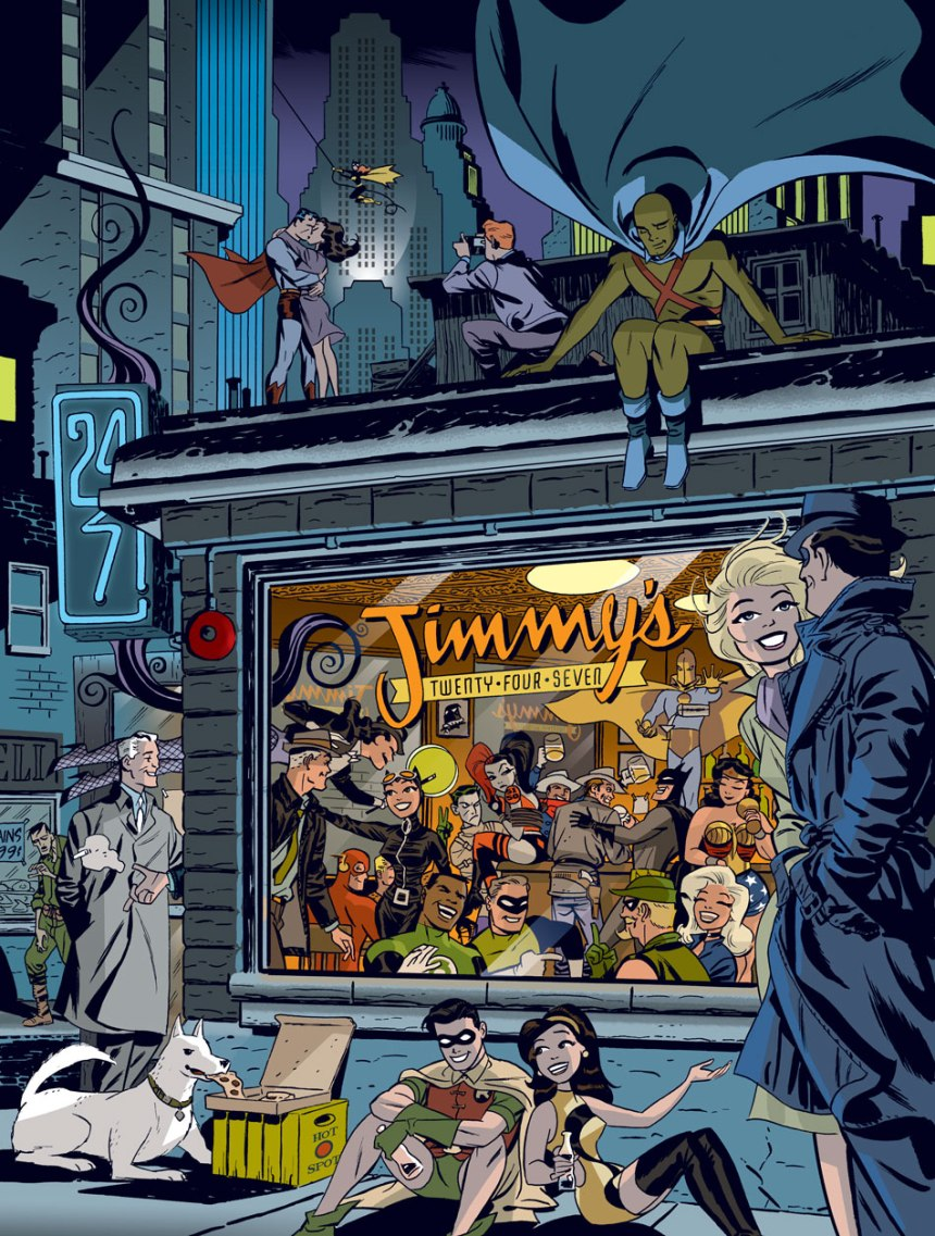 Jimmys twenty-four-seven - Darwyn Cooke