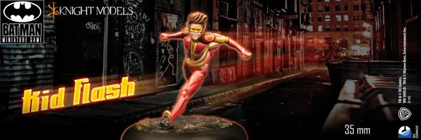 Knight Models Batman Miniature Game Kid Flash