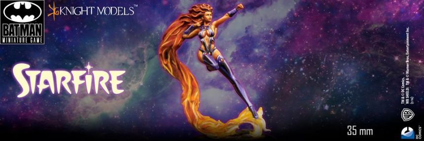 Knight Models Batman Miniature Game Starfire