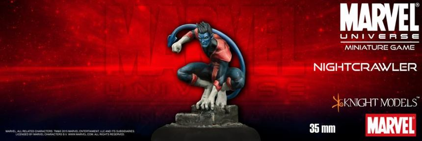 Knight Models Marvel Universe Miniature Game Nightcrawler