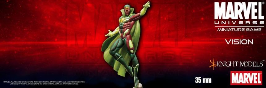 Knight Models Marvel Universe Miniature Game The Vision