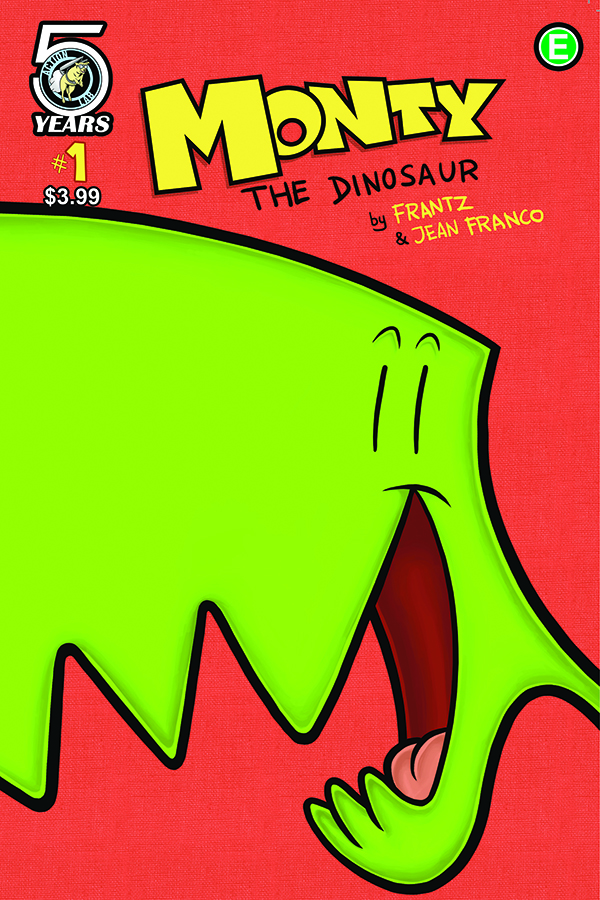 Monty The Dinosaur No1 Previews