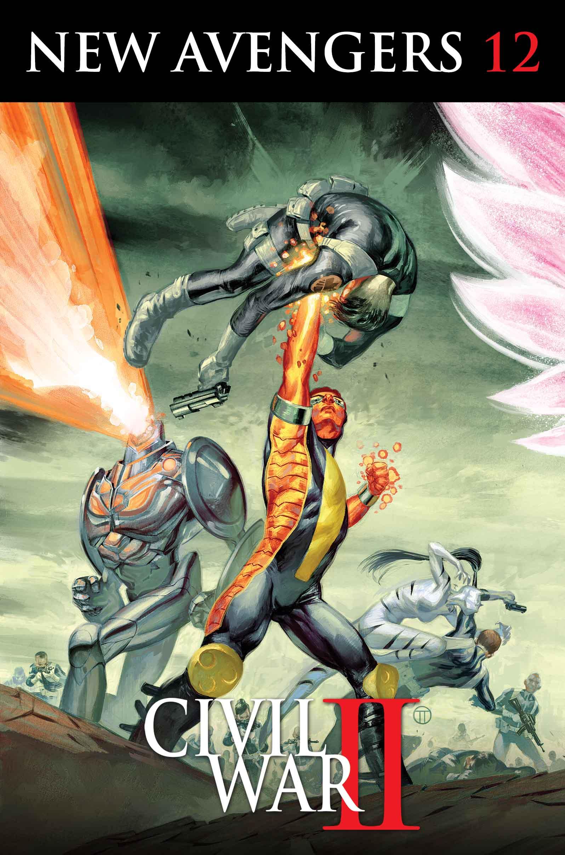 S.H.I.E.L.D. Vs. A.I.M.! Civil War II Erupts in New Avengers #12!