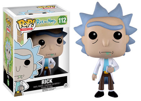 Pop! Animation Rick and Morty 1