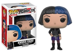 Pop! Movies Scott Pilgrim vs. the World Knives Chau