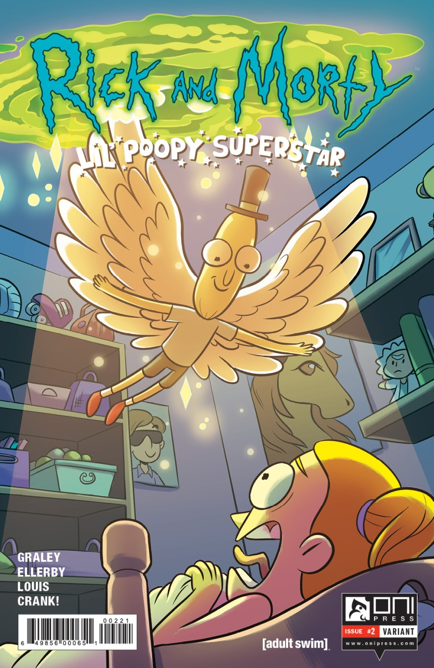 RICK AND MORTY LIL' POOPY SUPERSTAR #2 2