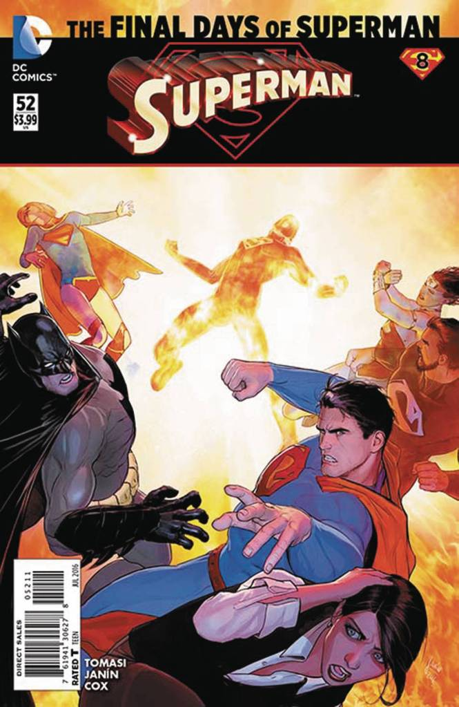 Superman #52 Cover