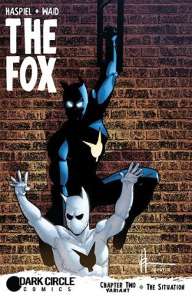 The Fox Chapter 2 Variant Cover by Dean Haspiel