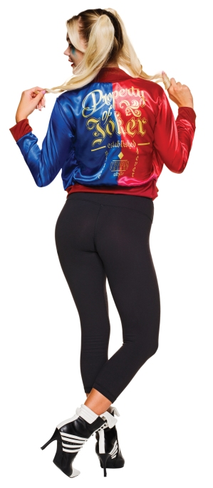 820078 Harley Quinn Adult Costume Back Shot LA