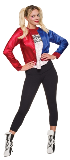 820078 Harley Quinn Adult Costume LA R2