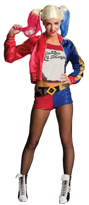 820118 Harley Quinn DLX Adult PA