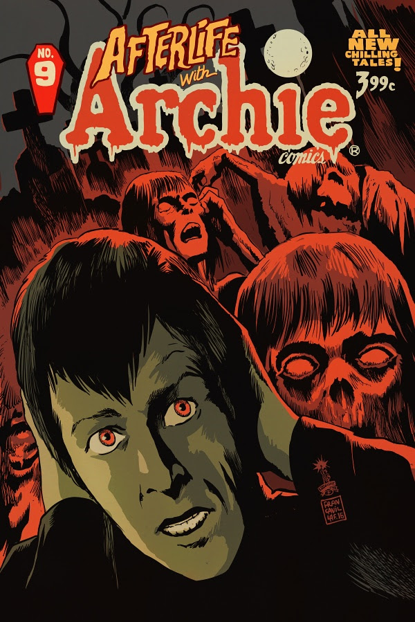 AFTERLIFE WITH ARCHIE #9 2nd Printing Variant